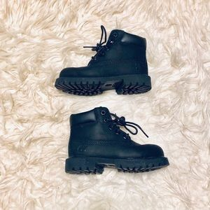 Timberland Black Classic Boots
